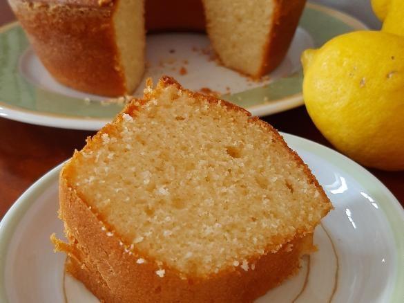 Bolo de natas e limão. Super fácil e delicioso!