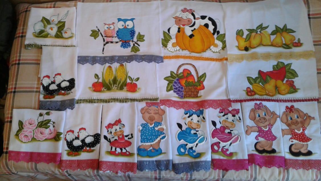 Pintura em tecido é fonte de renda para ex-alunas do SENAR em Carangola