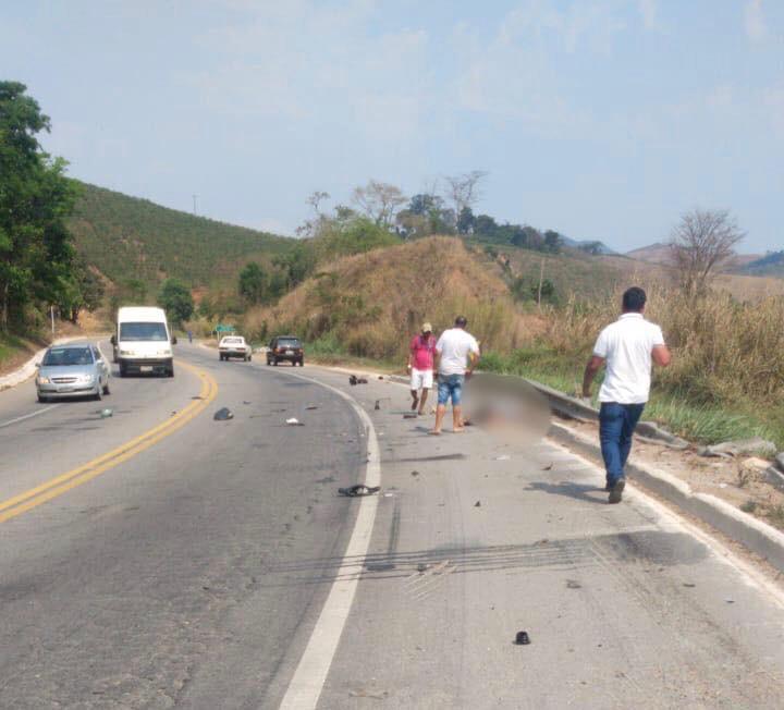 Mulher morre em grave acidente na BR-116