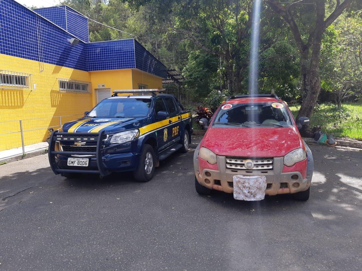 Mais um veículo clonado é apreendido pela PRF em Realeza