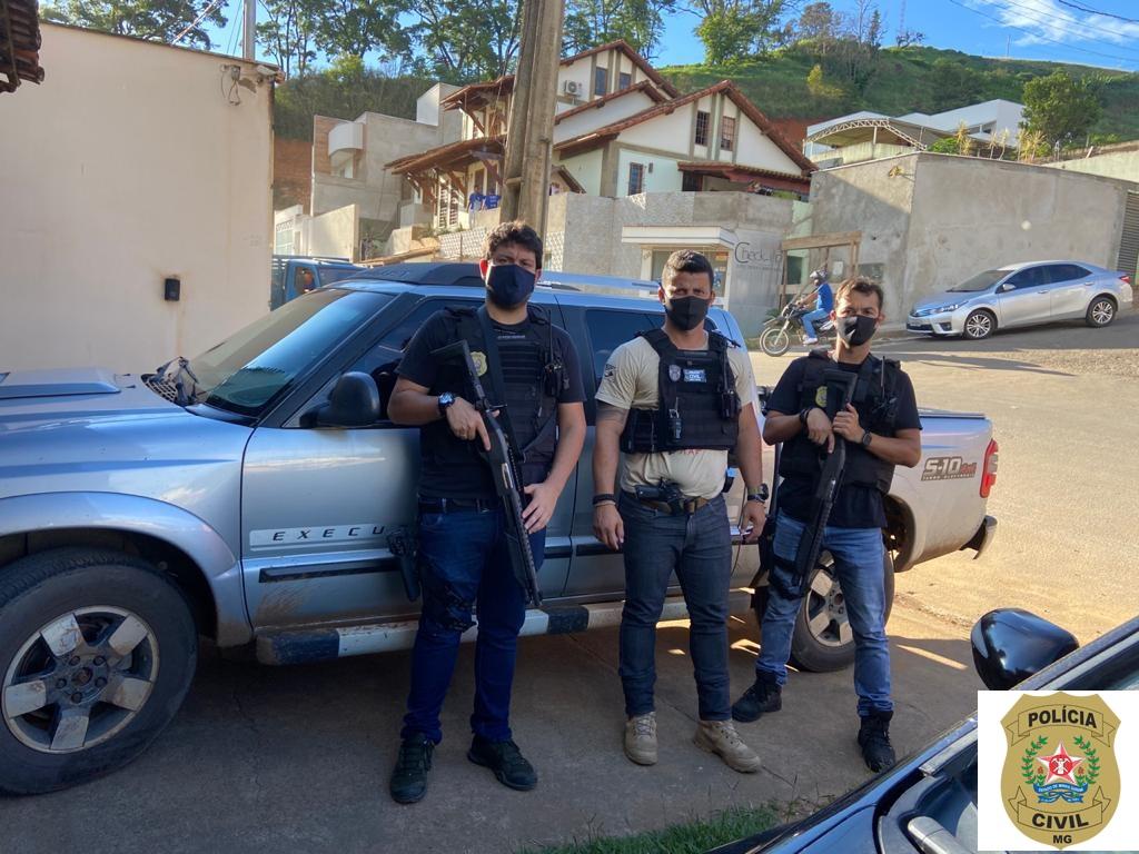 Polícia Civil de Matipó prende mais um envolvido em homicídio