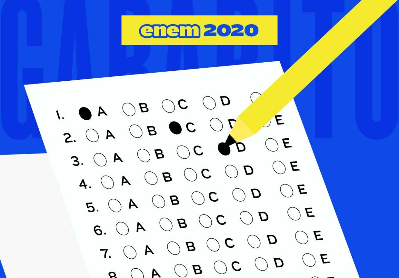 Gabarito do Enem 2020: Veja as respostas das questões do 2° dia