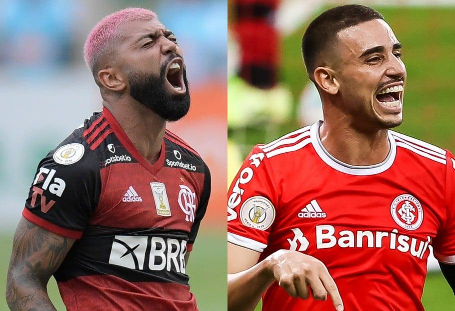 Internacional e Flamengo fazem 'final' do Brasileirão Assaí 2020 neste domingo