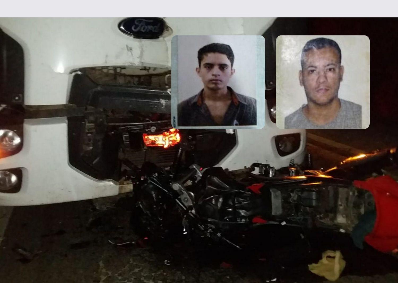Dois jovens de morrem em grave acidente na BR-116