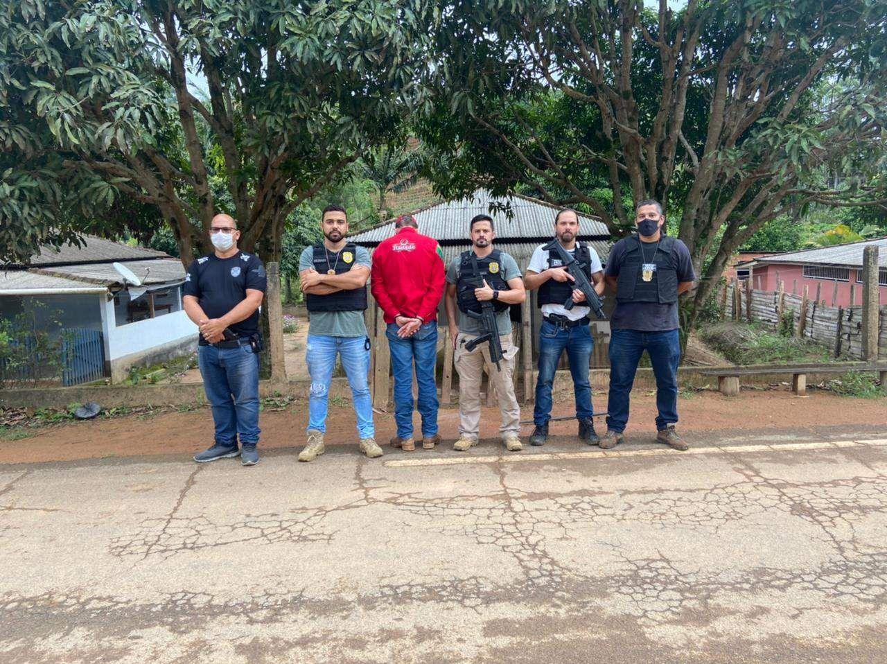 PCMG deflagra operação Nevoeiro e prende no Espírito Santo suspeito de homicídio
