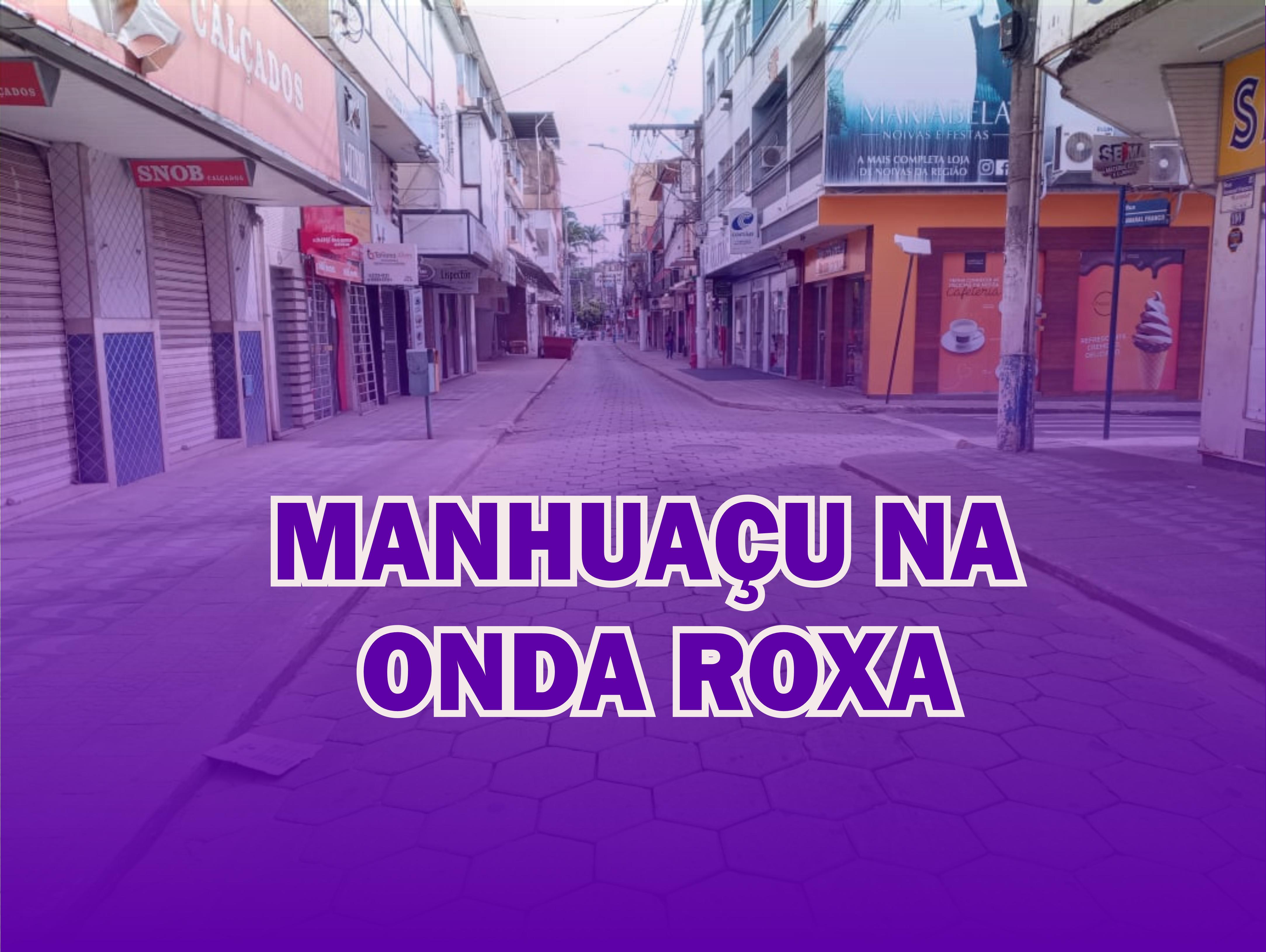 Manhuaçu e outras 22 cidades entra na Onda Roxa e terão mais restrições a partir de quinta