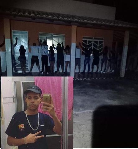 Adolescente é morto após tentar atirar contra policiais militares em um baile funk clandestino
