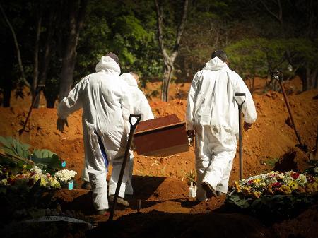 Brasil registra 3650 mortes por Covid em 24 horas, sem incluir os dados do Ceará