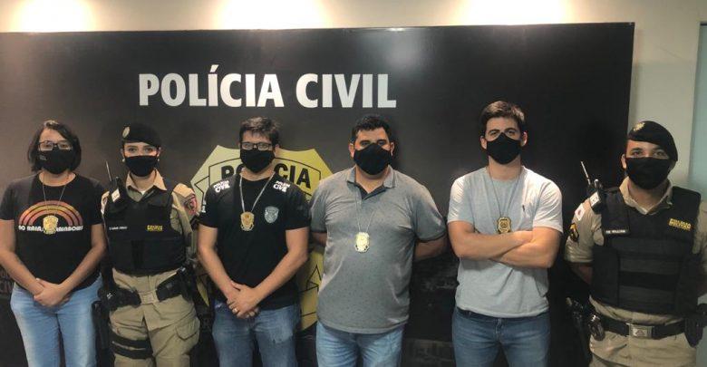 Em ação conjunta PM e PC prendem autor de violência doméstica em Manhuaçu