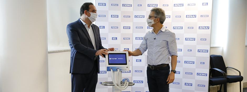 Governador Romeu Zema anuncia abertura de mais 100 leitos de UTI para pacientes com covid-19