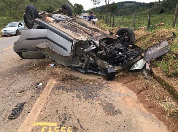 Grave acidente mata pai e filha em estrada de Dores do Rio Preto