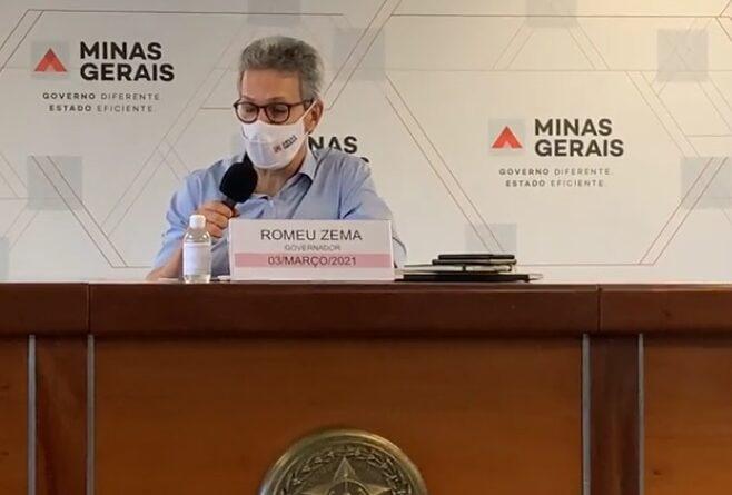 Onda roxa: Zema impõe restrições de circulação a duas regiões de Minas