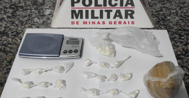 PM prende autor de tráfico e apreende drogas em Mátipo
