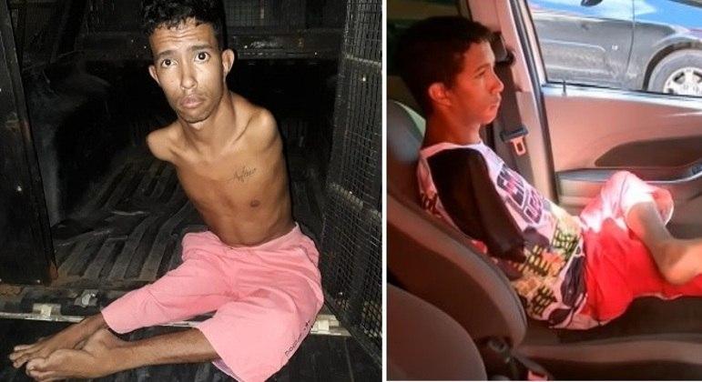 Jovem sem braços preso em assalto paga fiança e é liberado