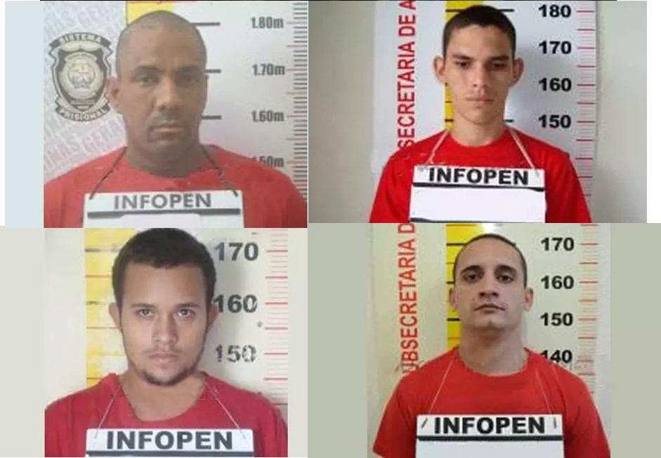 Quatro presos fogem da penitenciária de Ponte Nova