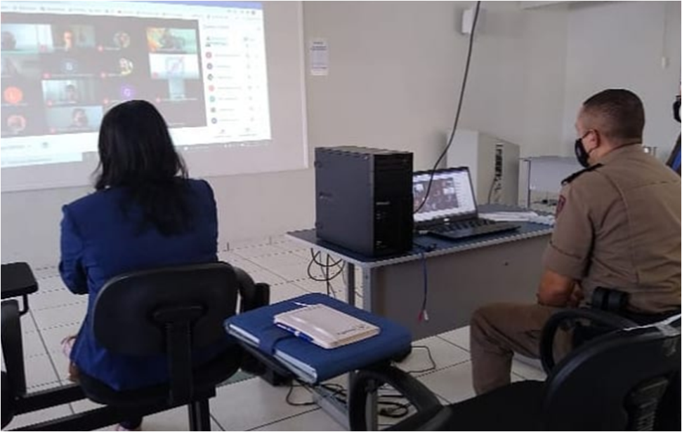 Manhuaçu: Reunião do gabinete de crise da covid-19 no 11° Batalhão de Polícia Militar
