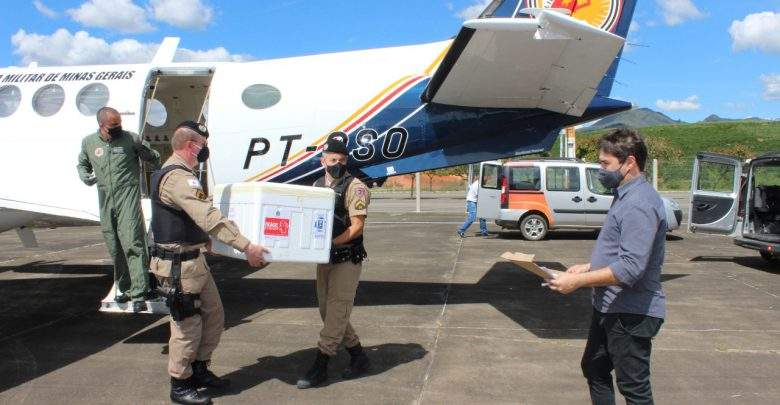 Sexta remessa da vacina da covid-19 chega em Manhuaçu