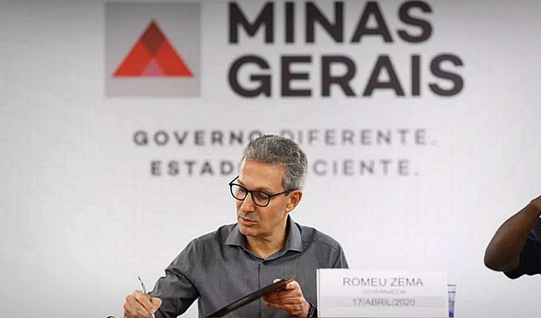 Zema decide colocar todas as cidades de minas na onda roxa a partir do dia 17