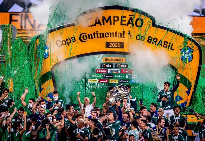 Palmeiras derrota Grêmio e conquista o tetra na Copa do Brasil