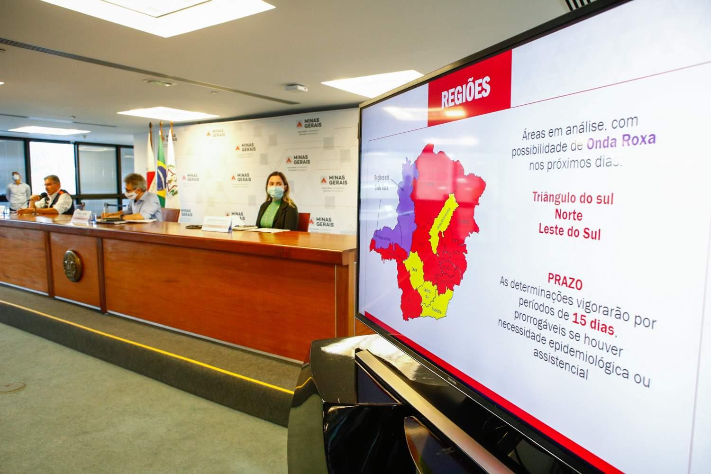 Saiba o que determina a 'onda roxa', anunciada pelo governo de Minas Gerais