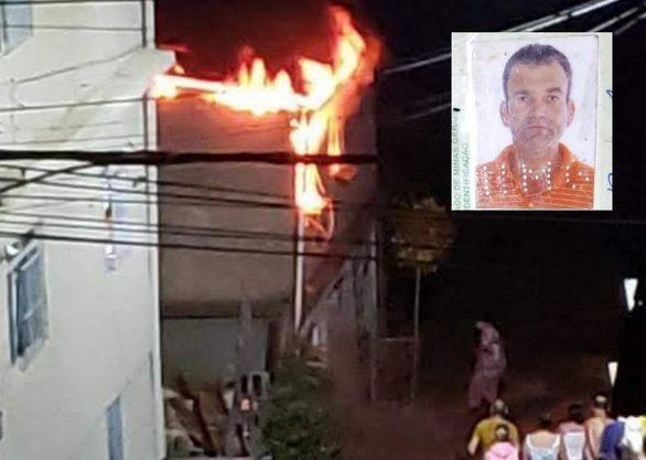 Homem morre carbonizado em incêndio no Bom Jardim