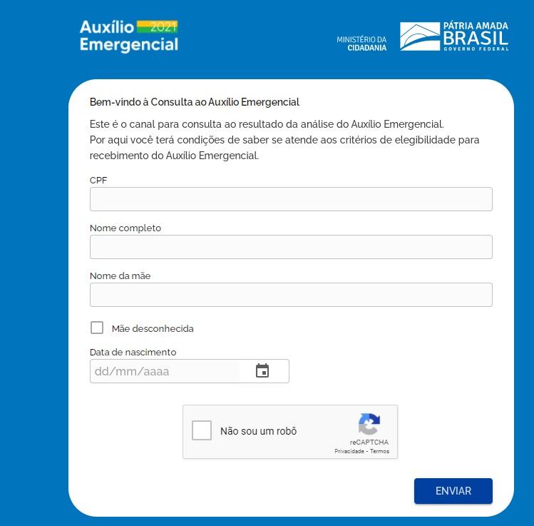 Auxílio emergencial: consulta já pode ser feita no site do Dataprev