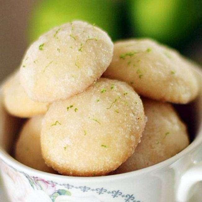 Delicia do dia: Biscoitos de limão com Maizena