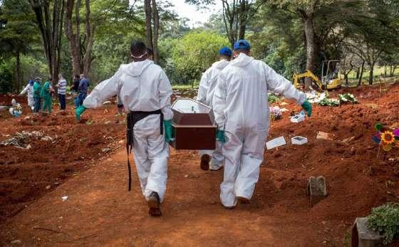 Brasil ultrapassa 375 mil mortes por Covid, mostra consórcio de imprensa