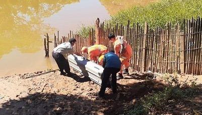 Corpo de homem é encontrado dentro de rio com as mãos amarradas