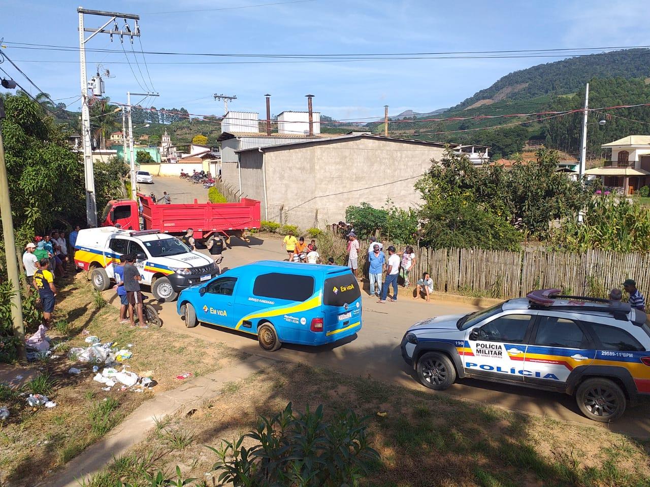 Polícia Militar registra homicídio em Pontões