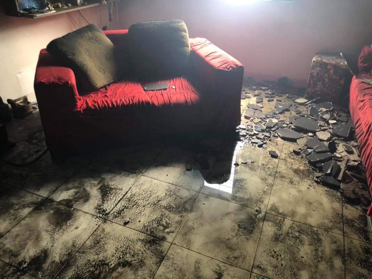 Idoso morre em incêndio em residência
