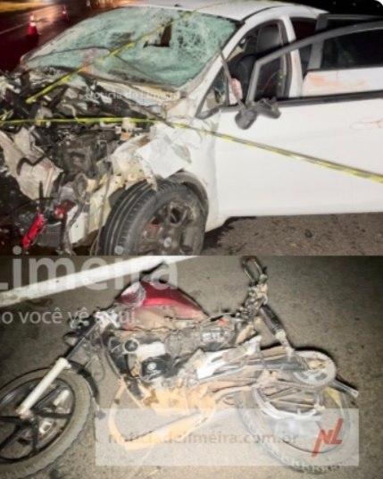Jovem de Santana do Manhuaçu morre em acidente na cidade de santa Gertrudes