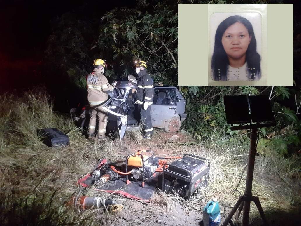 Moradora de Manhuaçu morre em acidente em Martins Soares