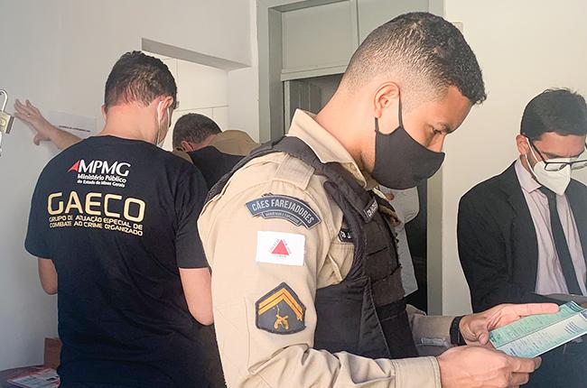 Operação True-False cumpre mandados em Manhuaçu e Reduto