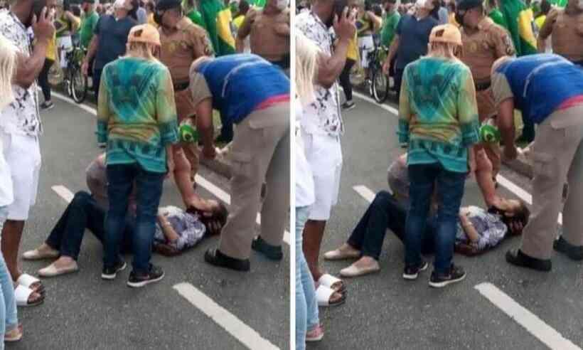 Psicóloga atinge idosa com maracujá congelado e é presa