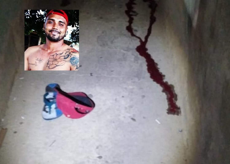 Rapaz é morto a tiros no bairro Santa Luzia em Manhuaçu