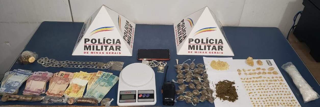 Traficante é preso no bairro São Vicente em Manhuaçu
