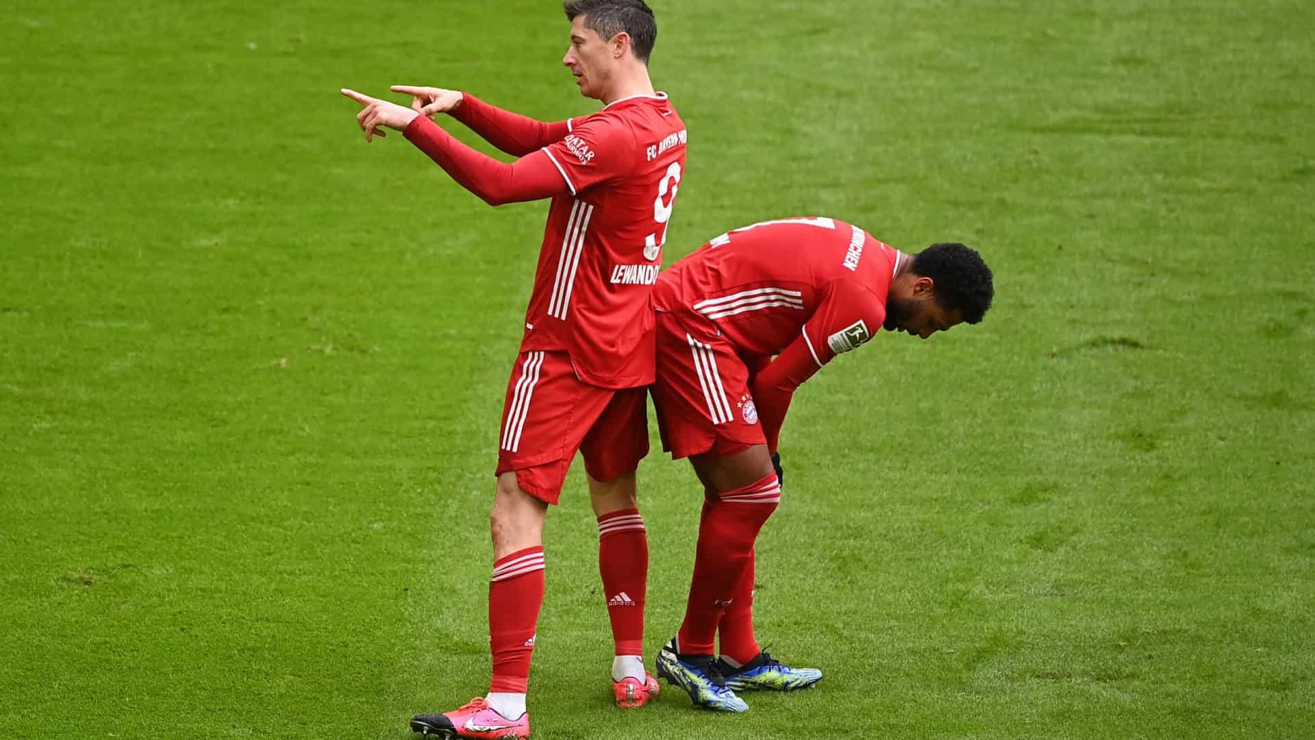Na volta de Lewandowski, Bayern é superado pelo Mainz e adia conquista do Alemão