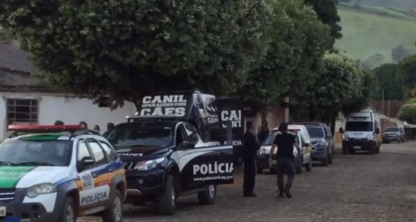Polícias Militar, Civil e MP fazem operação contra organizações criminosas em MG