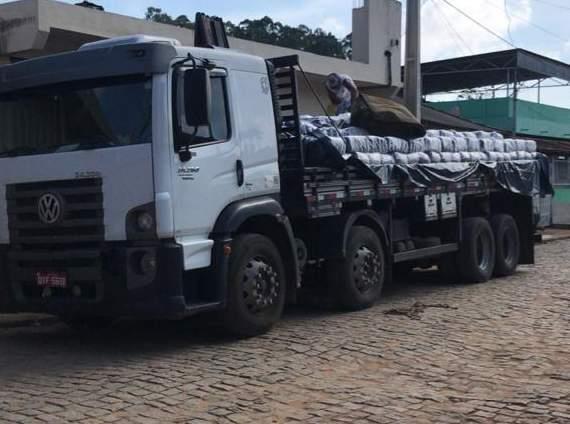 Fardos de açúcar: Polícia Civil recupera carga avaliada em 95 mil