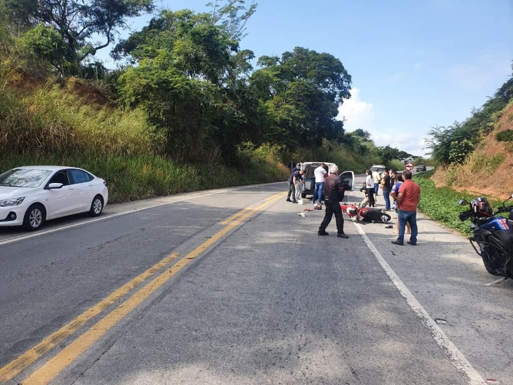 Motociclista morre em acidente na BR-262