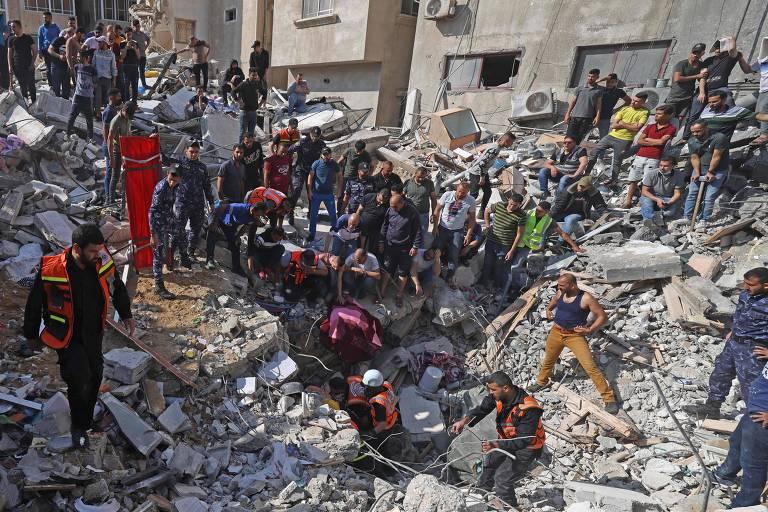 Ataque de Israel mata 42 palestinos, em ação mais letal desde início do conflito
