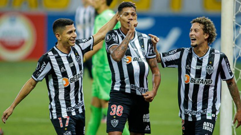Atlético goleia La Guaira e garante liderança geral da Copa Libertadores