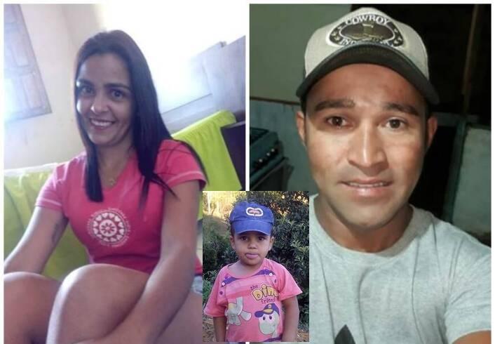 Carro cai em rio e mata casal e uma criança de 6 anos na rodovia MG-265