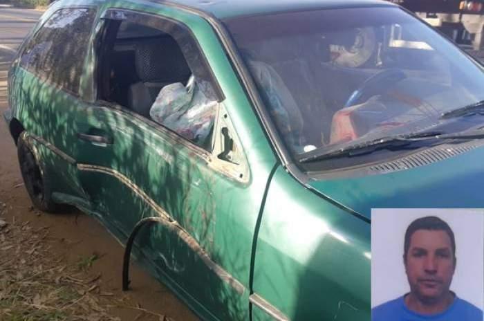 Condutor embriagado provoca acidente e abandona carro com o tio morto