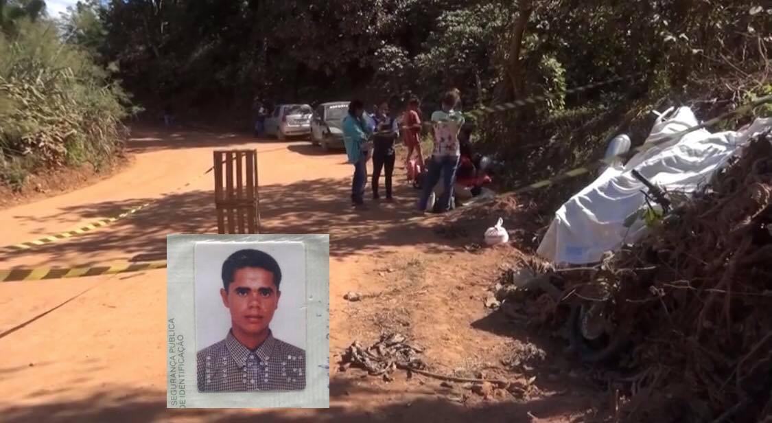 Homem é morto com 14 tiros enquanto seguia para a panha de café em estrada na zona rural