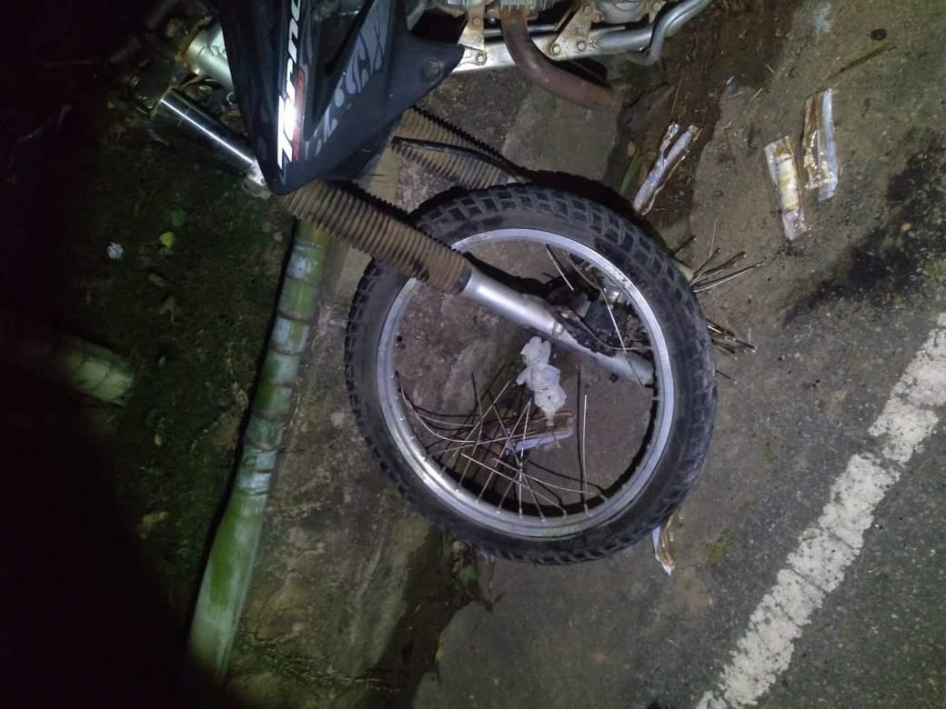 Jovem morre em acidente de moto em Alto Jequitibá