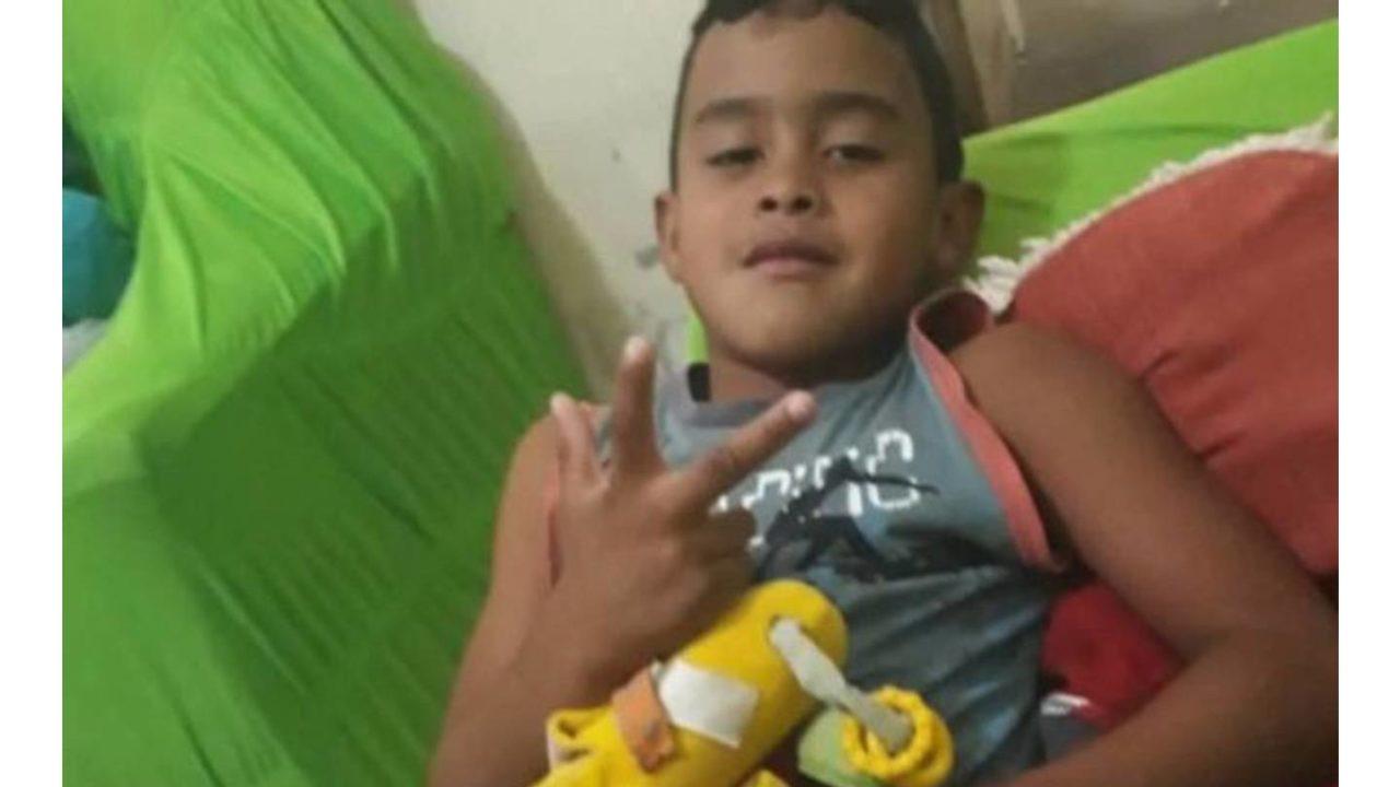 Padrasto é suspeito de espancar menino de oito anos até a morte