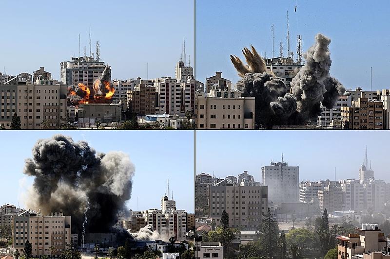 Israel bombardeia prédio onde AP e Al Jazeera funcionavam