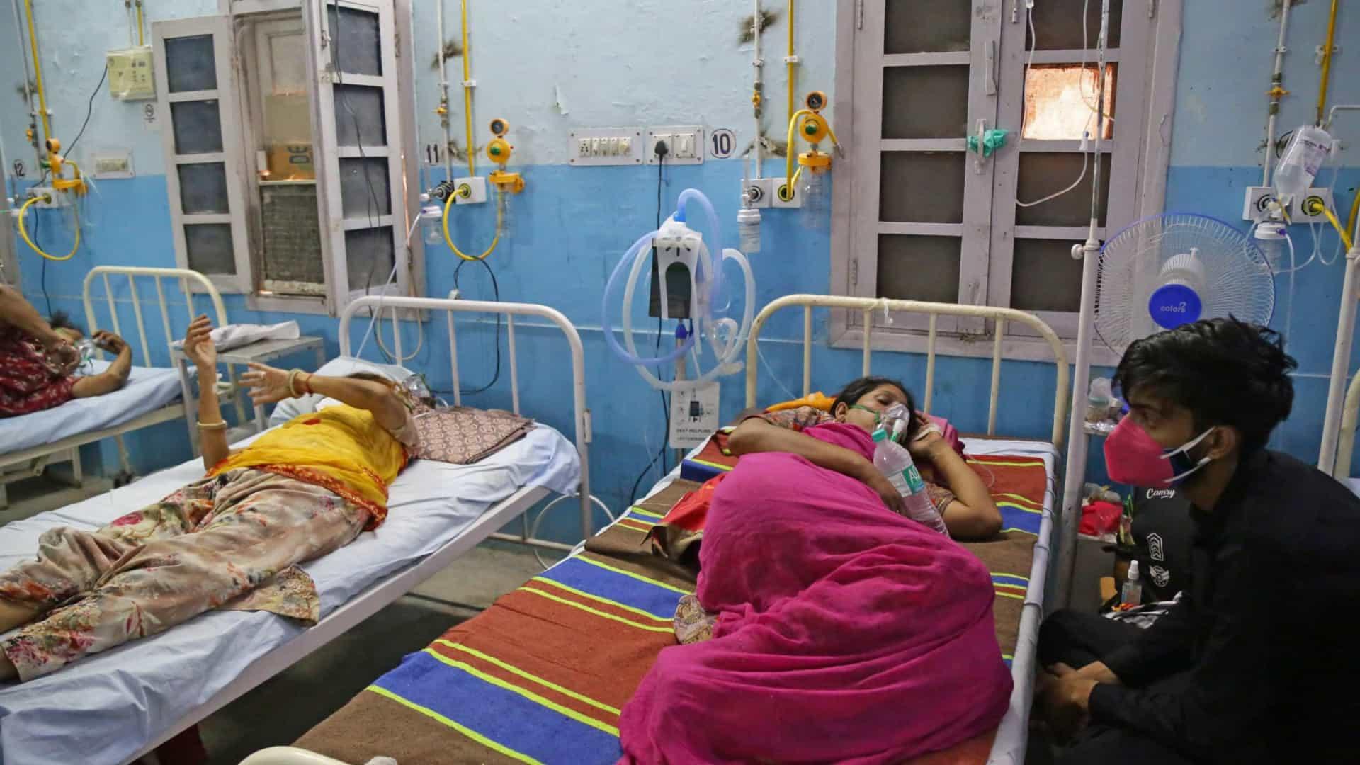 Índia registra menor aumento diário em casos de covid-19 em 45 dias